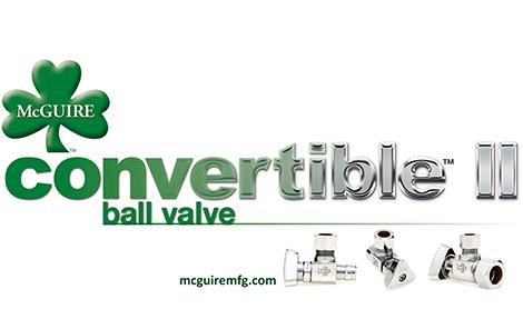 McGuire Convertible II Ball Valve (BVII)